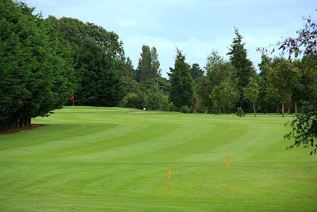 A view from the 15th fairway at Lucan Golf Club