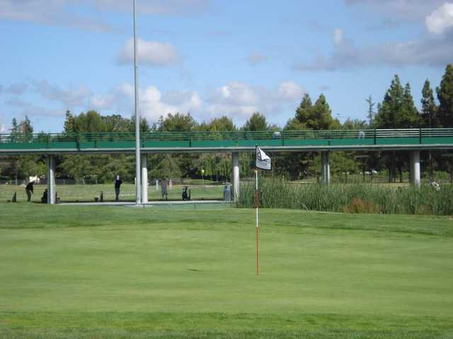 A view of the 9th green at San Jose Golf Course