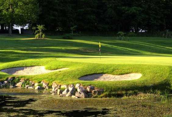 A view of the 6th hole at Dundrum Golf Course Tipperary