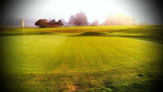 A view of hole #7 at Pajaro Valley Golf Club