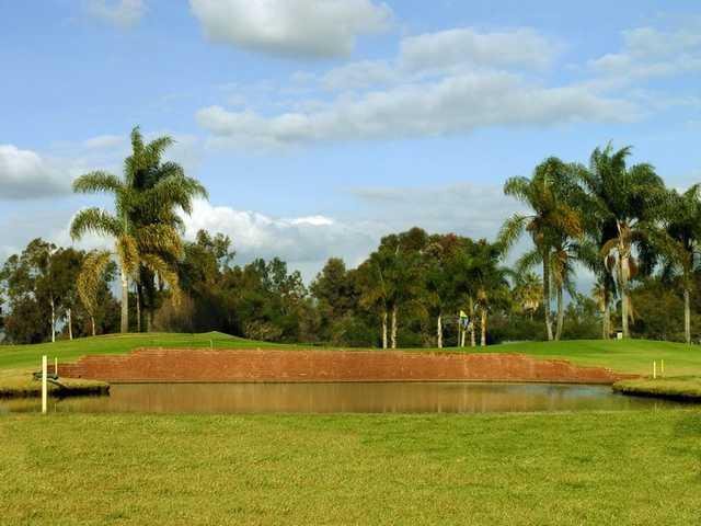 A view of a hole at Miramar Memorial Golf Course