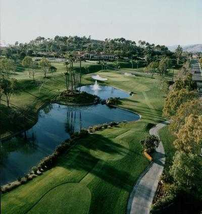 Aerial view from Bernardo Heights Country Club