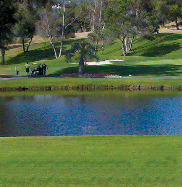 A view over the water at South from Admiral Baker Golf Course