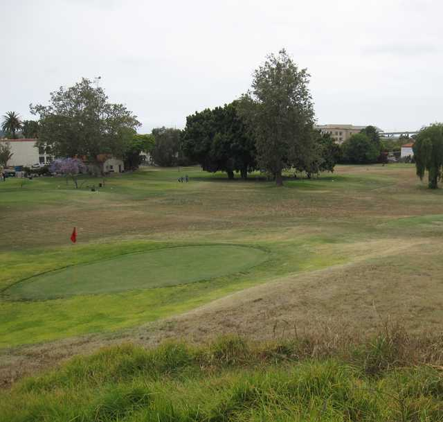 A view of the 4th green at Presidio Hills Golf Course
