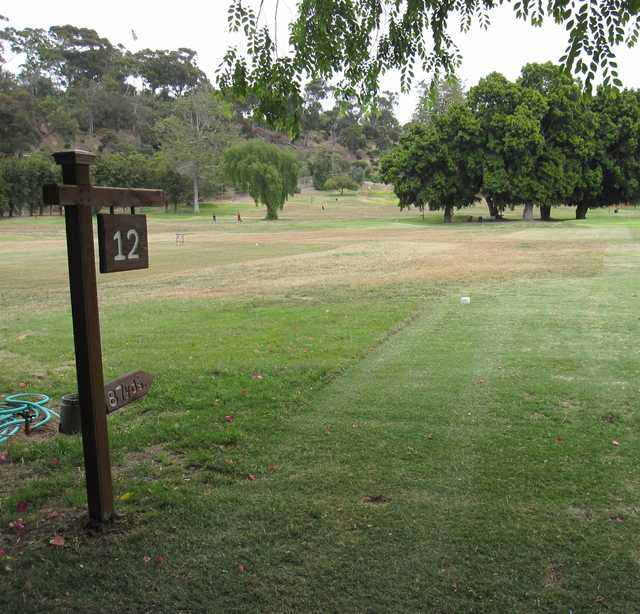 A view from tee #12 at Presidio Hills Golf Course