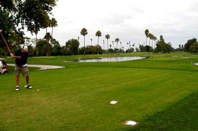 A view from tee at Sea 'n' Air Golf Course