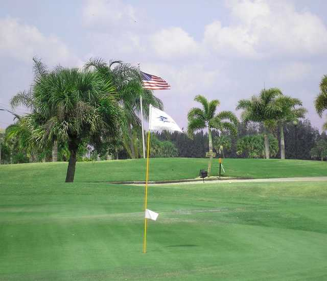 View from Vista Plantation Golf Course