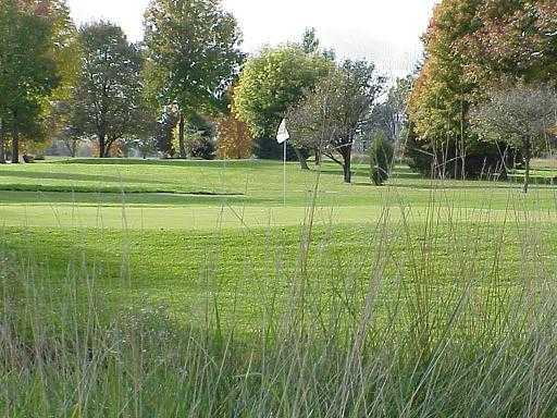 A view of green at Deer Run Golf Course
