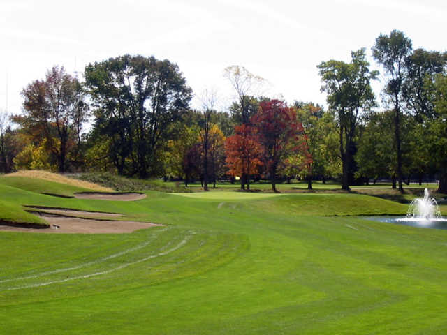A view from fairway #18 green at Twin Lakes Golf Club