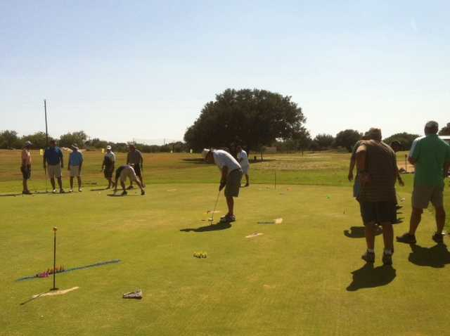 A view from Llano River Golf Course