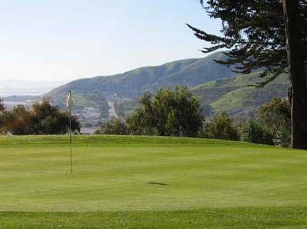 A view of the 2nd green at Gleneagles GC at McLaren Park