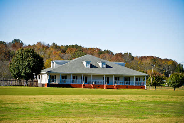 A view of the clubhouse at Goose Pond Colony Resort