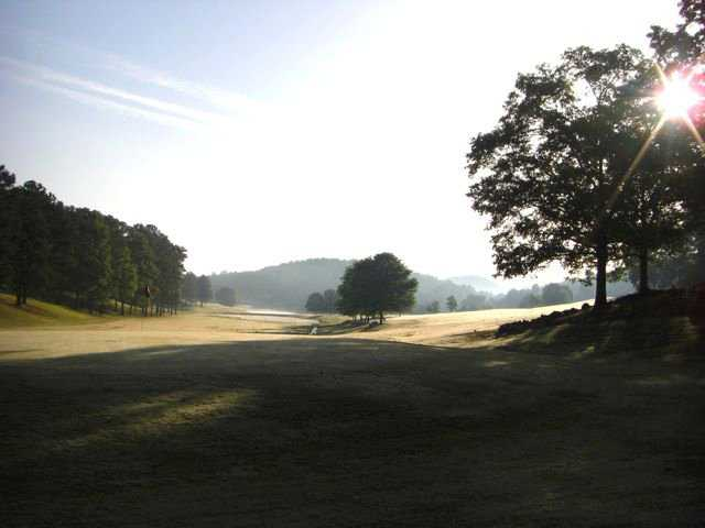 A morning view of hole #3 at Heritage Golf Course