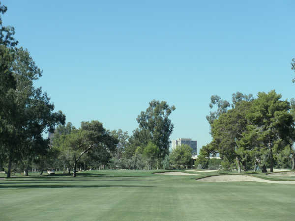 A view from fairway #7 at Phoenix Country Club