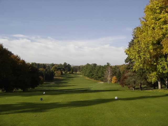 A view from tee #17 at Berkleigh Golf Club