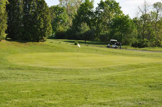 A view of green at Rich Maiden Golf Course