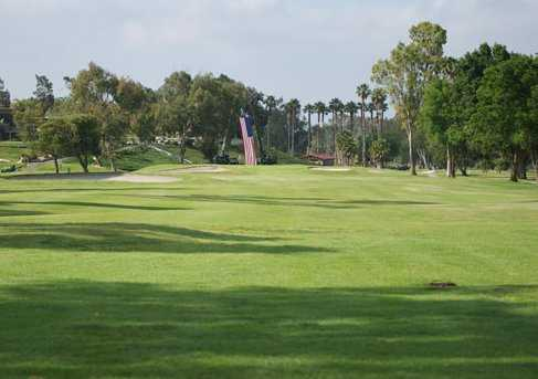 A view from Marine Memorial Golf Course