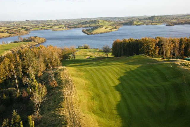 Aerial view of a fairway at Concra Wood Golf & Country Club