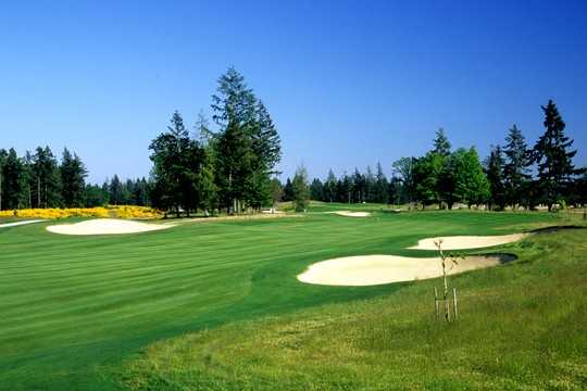 A view of fairway #5 at Home Course