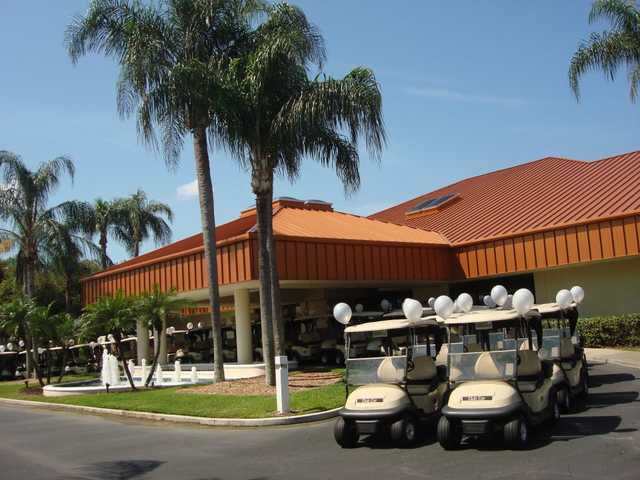 A view of the clubhouse at Peridia Golf & Country Club