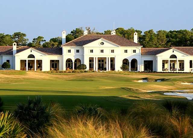 A view of the clubhouse at Concession Golf Club