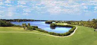 A view from Lake Venice Golf Club