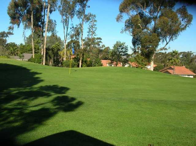 A view of hole #5 at Lomas Santa Fe Executive Golf Course