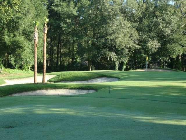 A view of the 16th hole at Haile Plantation Golf & Country Club