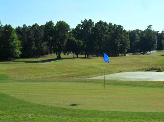 A view of the 13th hole at Meadowbrook Golf Club