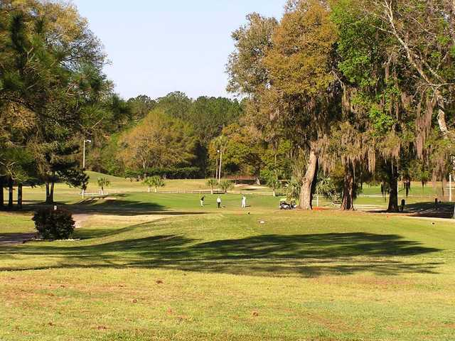A fall view from West End Golf Course