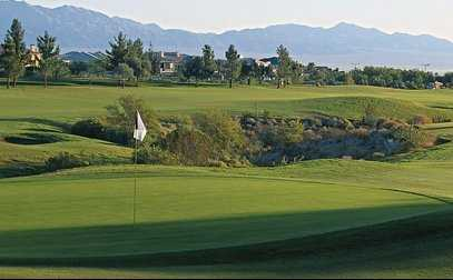 A view of a green from TPC Summerlin
