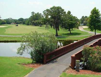 A view of the bridge on #13 at Ventura Country Club