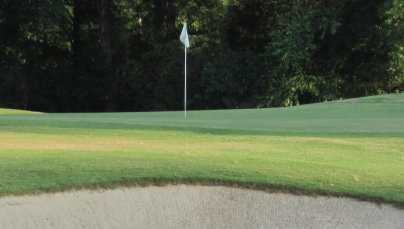 A view of a hole at Lake Forest Yacht & Country Club
