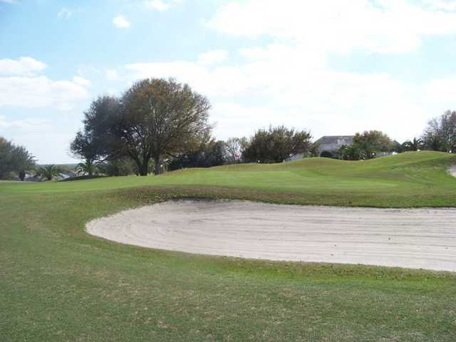 A view of a hole at Huntington Hills Golf & Country Club