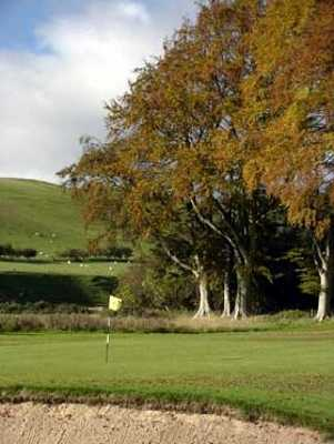A view of the 2nd hole at Woll Golf Course