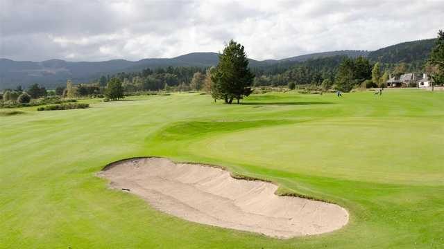 A view from Ballater Golf Club