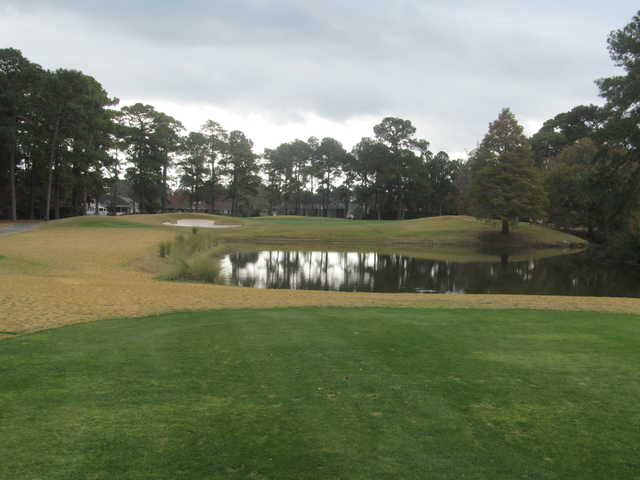General James Hackler Golf Course: View from #2