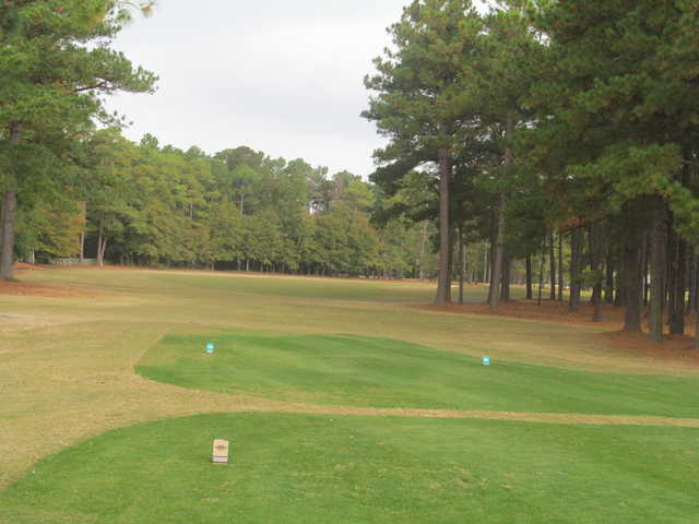 General James Hackler Golf Course: View from #17