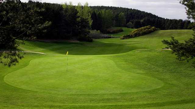 A view of green at Forres Golf Club