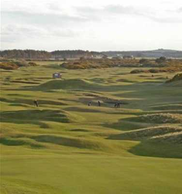 A view from New Course at Moray Golf Club