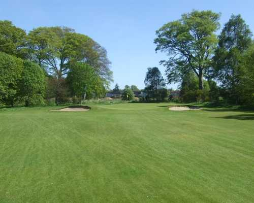 A view of the 2nd hole at Invergordon Golf Club