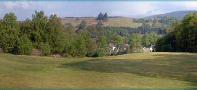 A view from Spean Bridge Golf Club