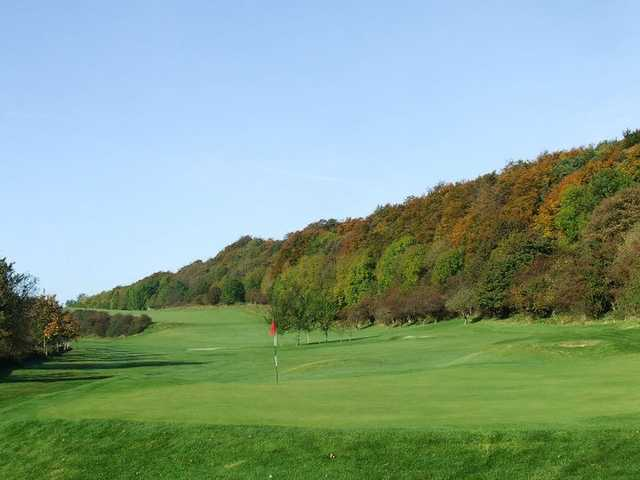 A view of hole #9 at Kirkcaldy Golf Club