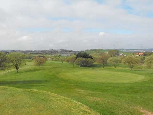 A view of green at Lochgelly Golf Club