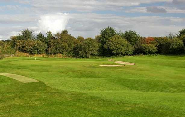 A view of the 9th hole at Bathgate Golf Club