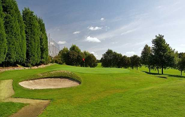 A view of hole #11 at Bathgate Golf Club