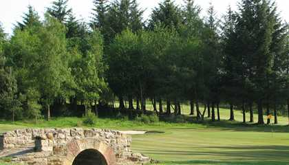 A view from Harburn Golf Club