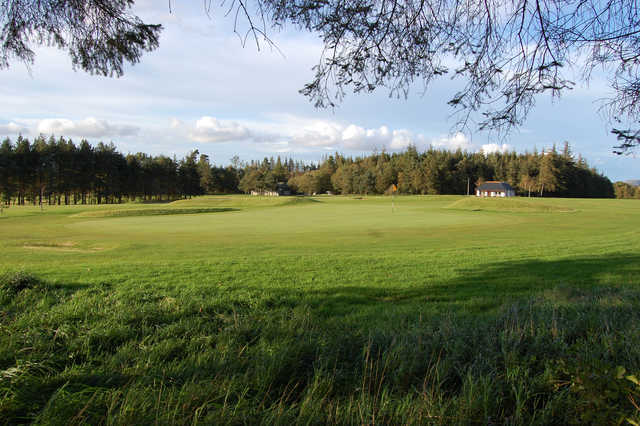 A view of green at Gifford Golf Club