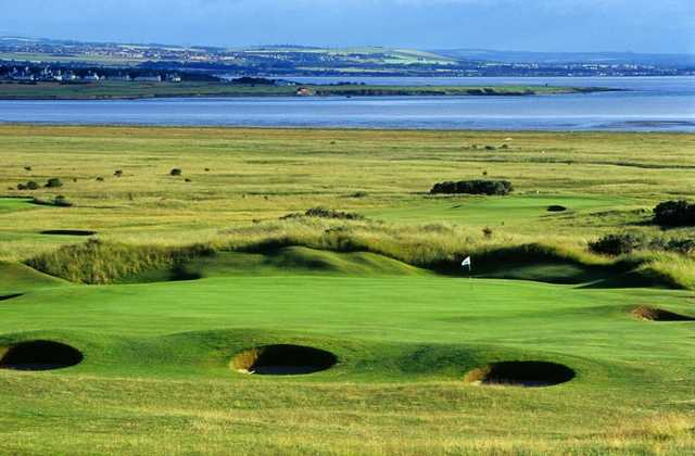 The 11th hole on Course 2 at the Gullane Gof Club