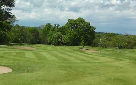 A view of hole #7 at Newbattle Golf Club